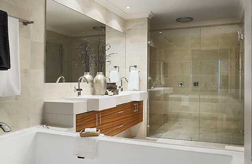 Glass Shower Screen Frameless