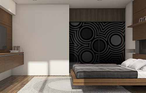 Printed Glass Wardrobe doors