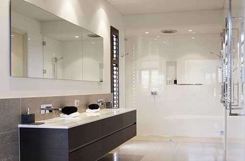 frameless Glass shower screens for bathroom